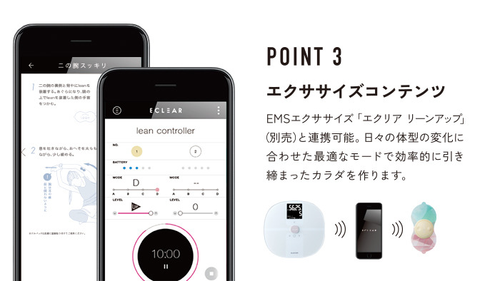 POINT3 エクササイズコンテンツ